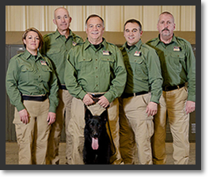 K-9 SOS Team Photo